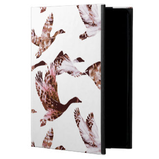 Batik Dusty Rose Geese in Flight Waterfowl Animals Powis iPad Air 2 Case