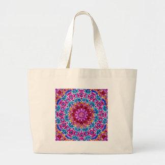 Batik Mandala Large Tote Bag