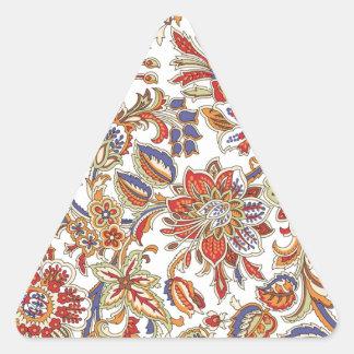 batik no.1 collection triangle sticker
