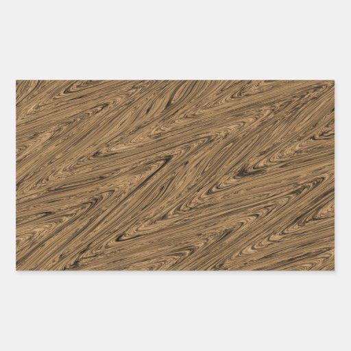 Batik Patern green wood Sticker