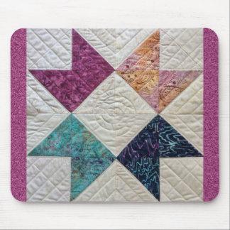 Batik Quilt Mouse Pad