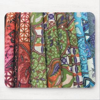 Batik sarong patterns mouse pad