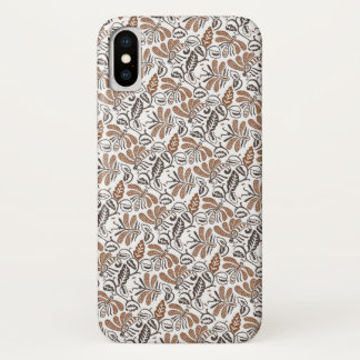 Batik Walang White Pattern (Java Pattern) Case-Mate iPhone Case
