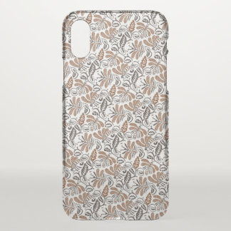Batik Walang White Pattern (Java Pattern) iPhone X Case