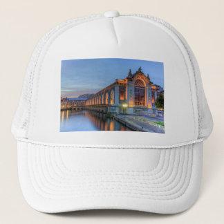 Batiment des Forces-Motrices, Geneva, Switzerland Trucker Hat