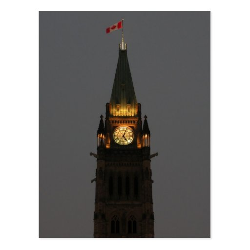 Bâtiments Ottawa - carte postale du Parlement