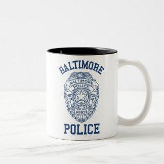 Batimore Police Maryland Two-Tone Coffee Mug