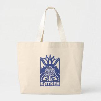 Batken_obl_coa Large Tote Bag