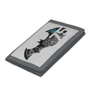 Batman 75 Logo - Chalkboard Tri-fold Wallet