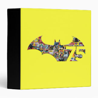 Batman 75 Logo - Comic Covers Binder