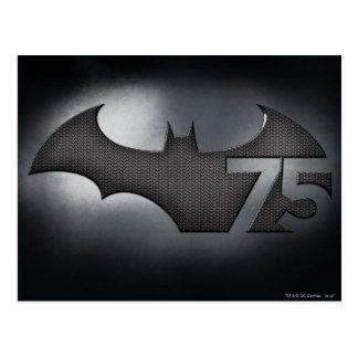 Batman 75 - Metal Grid Postcard