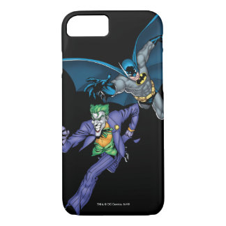 Batman and Joker with gun iPhone 8/7 Case
