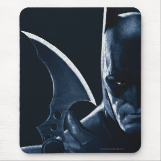 Batman: Arkham Asylum   Batman Closeup Mouse Pad