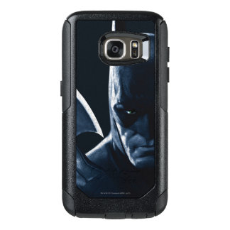 Batman: Arkham Asylum | Batman Closeup OtterBox Samsung Galaxy S7 Case