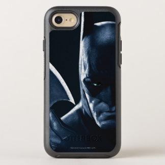 Batman: Arkham Asylum   Batman Closeup OtterBox Symmetry iPhone 8/7 Case