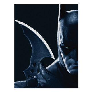 Batman: Arkham Asylum | Batman Closeup Postcard