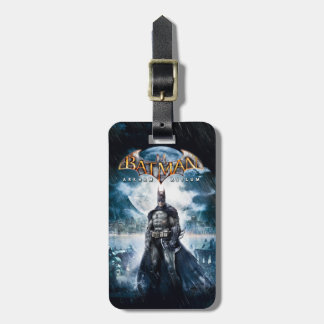 Batman: Arkham Asylum | Game Cover Art Luggage Tag