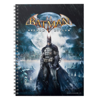 Batman: Arkham Asylum | Game Cover Art Notebooks