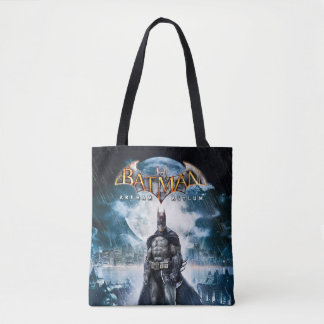 Batman: Arkham Asylum | Game Cover Art Tote Bag