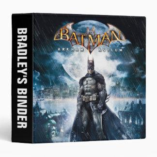 Batman: Arkham Asylum   Game Cover Art Vinyl Binder