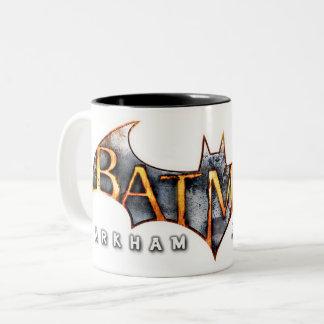 Batman: Arkham Asylum   Logo Two-Tone Coffee Mug