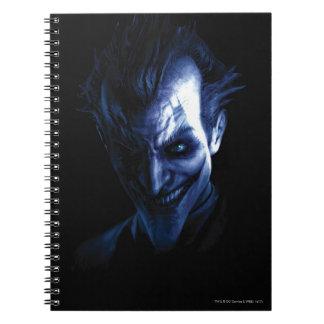 Batman: Arkham Asylum   The Joker In Shadow Notebook