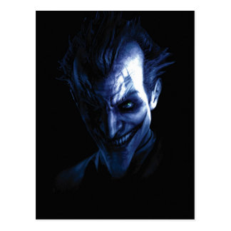 Batman: Arkham Asylum | The Joker In Shadow Postcard