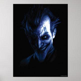 Batman: Arkham Asylum   The Joker In Shadow Poster