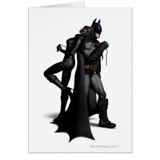 Batman Arkham City | Batman and Catwoman Card