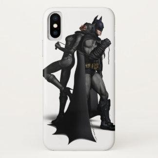 Batman Arkham City   Batman and Catwoman Case-Mate iPhone Case