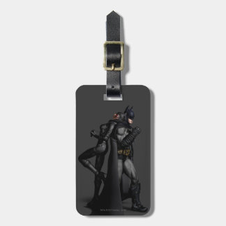 Batman Arkham City | Batman and Catwoman Luggage Tag