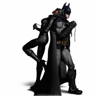Batman Arkham City | Batman and Catwoman Standing Photo Sculpture