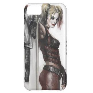 Batman Arkham City | Harley Quinn Illustration iPhone 5C Case