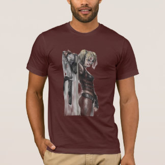 Batman Arkham City | Harley Quinn Illustration T-Shirt