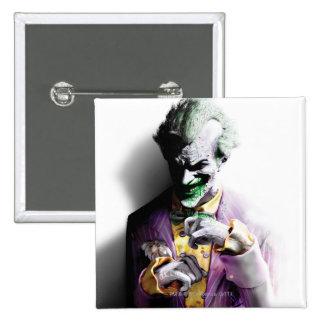 Batman Arkham City | Joker 2 Inch Square Button