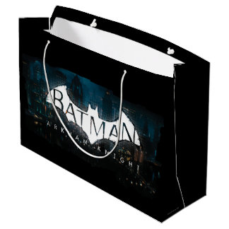 Batman Arkham Knight Gotham Logo Large Gift Bag