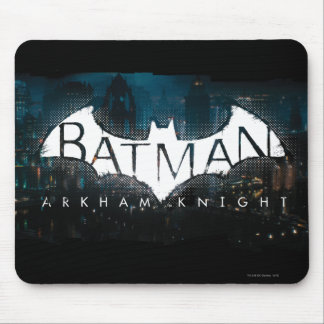 Batman Arkham Knight Gotham Logo Mouse Pad