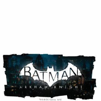 Batman Arkham Knight Gotham Logo Standing Photo Sculpture