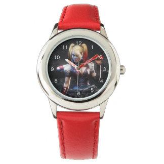Batman Arkham Knight | Harley Quinn with Bat Wrist Watches