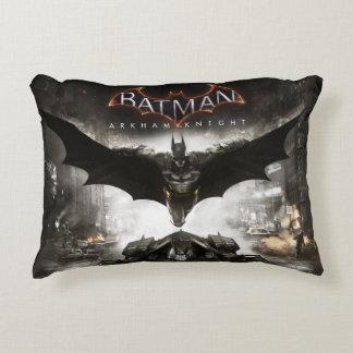Batman Arkham Knight Key Art Accent Pillow