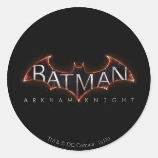 Batman Arkham Knight Logo Round Sticker