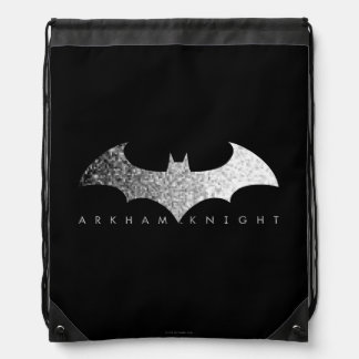 Batman Arkham Knight Pixel Logo Backpack