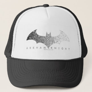 Batman Arkham Knight Pixel Logo Trucker Hat
