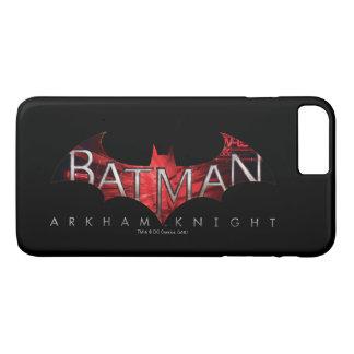 Batman Arkham Knight Red Logo iPhone 7 Plus Case