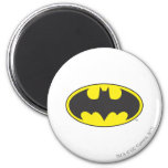 Batman Bat Logo Oval 2 Inch Round Magnet