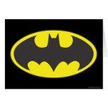 Batman Bat Logo Oval Cards