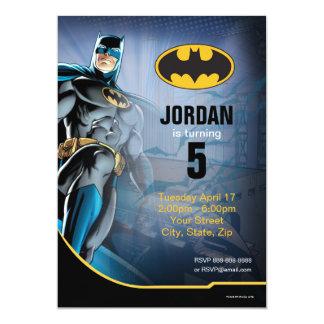"""Batman Birthday 5"""" X 7"""" Invitation Card"""