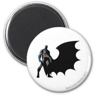 Batman - Black Cape 2 Inch Round Magnet