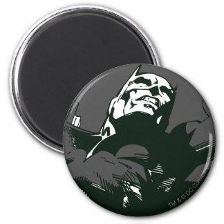 Batman Black & White Graffiti Stencil 2 Inch Round Magnet