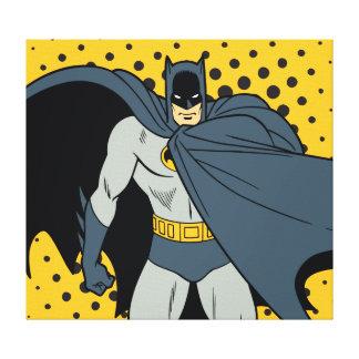 Batman Cape Canvas Print